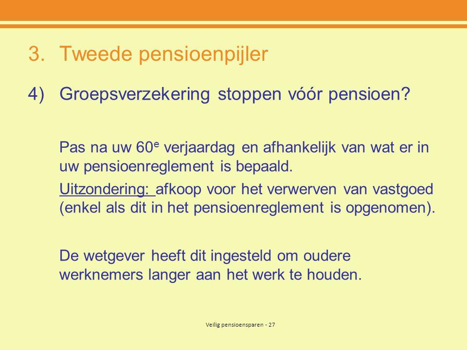 Tweede pensioenpijler
