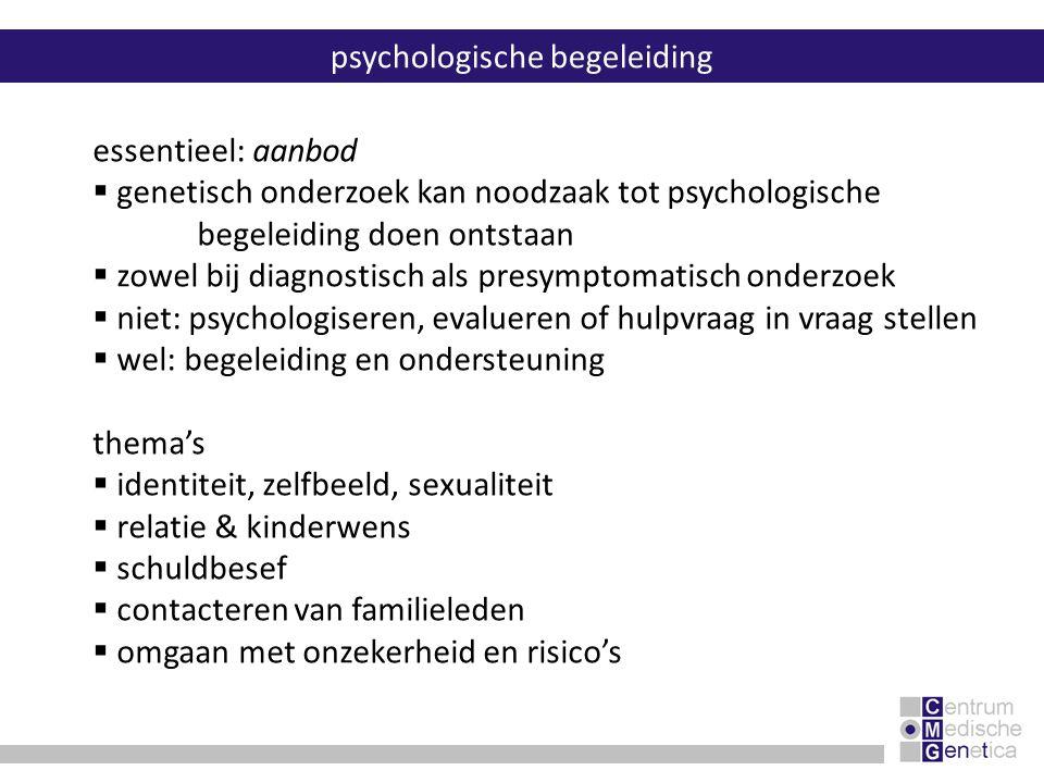 psychologische begeleiding
