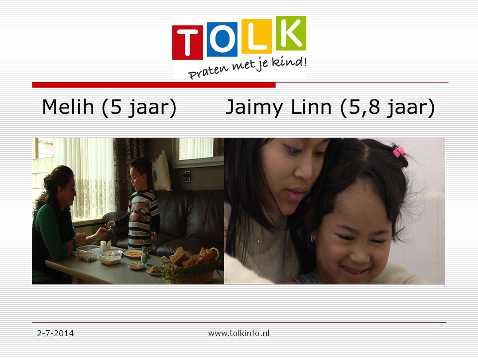 Melih (5 jaar) Jaimy Linn (5,8 jaar)
