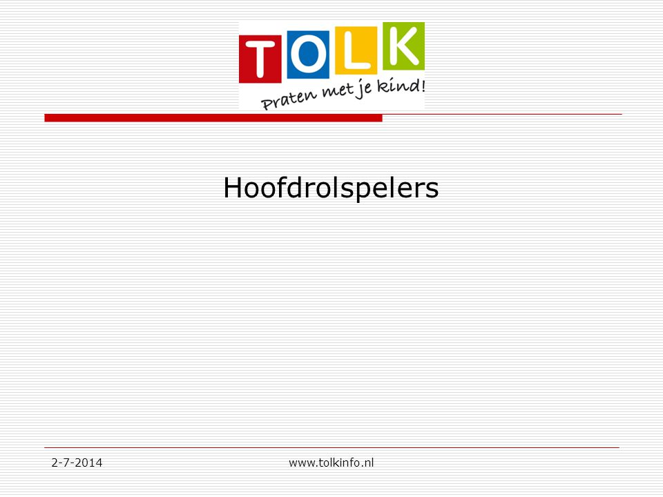 Hoofdrolspelers 3-4-2017 www.tolkinfo.nl