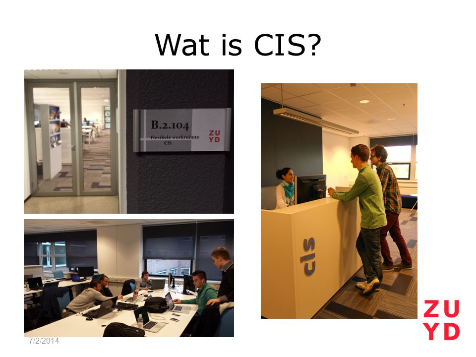 Wat is CIS 4/3/2017
