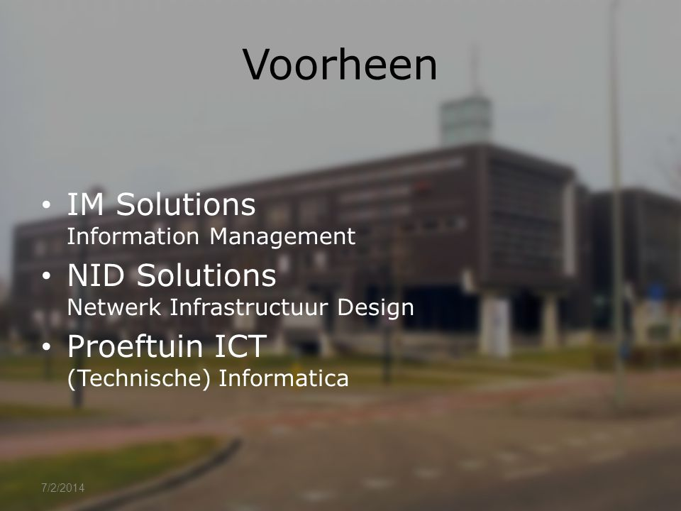 Voorheen IM Solutions Information Management