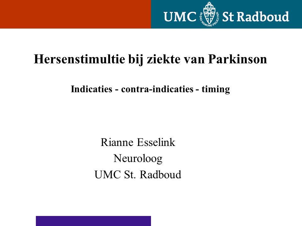 Rianne Esselink Neuroloog UMC St. Radboud