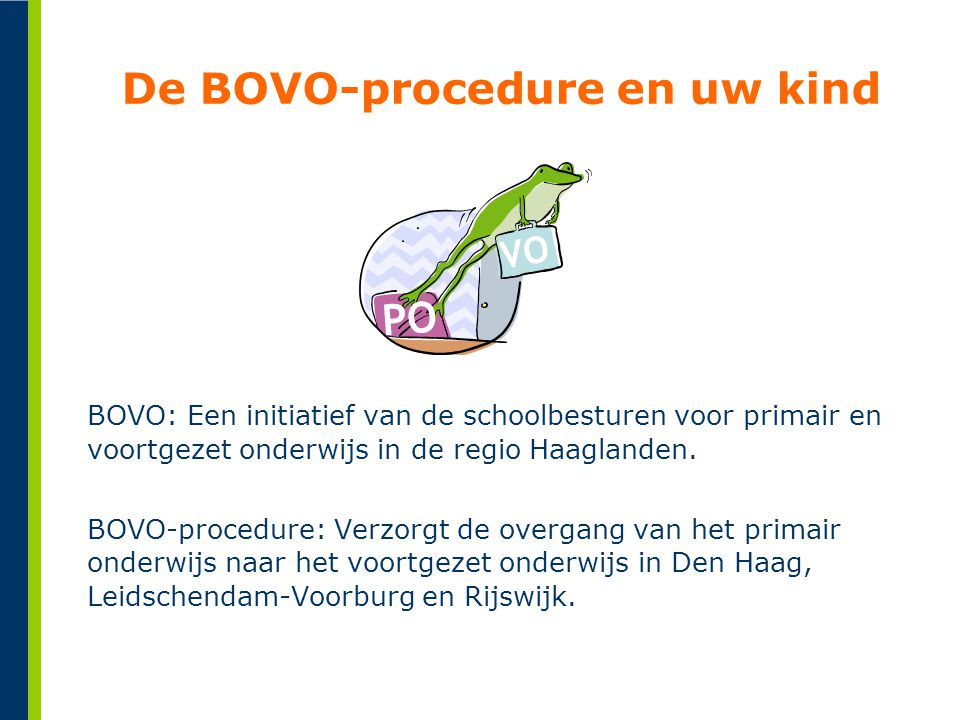 De BOVO-procedure en uw kind