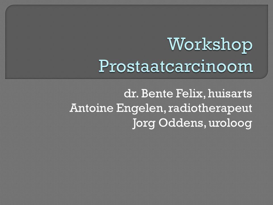 Workshop Prostaatcarcinoom