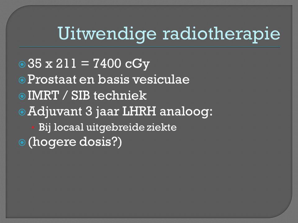 Uitwendige radiotherapie