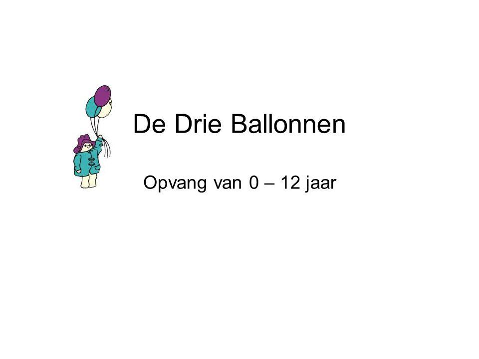De Drie Ballonnen Opvang van 0 – 12 jaar