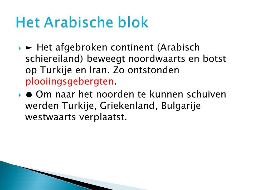 Het Arabische blok