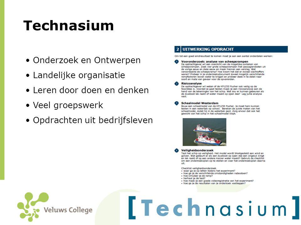 Technasium Onderzoek en Ontwerpen Landelijke organisatie
