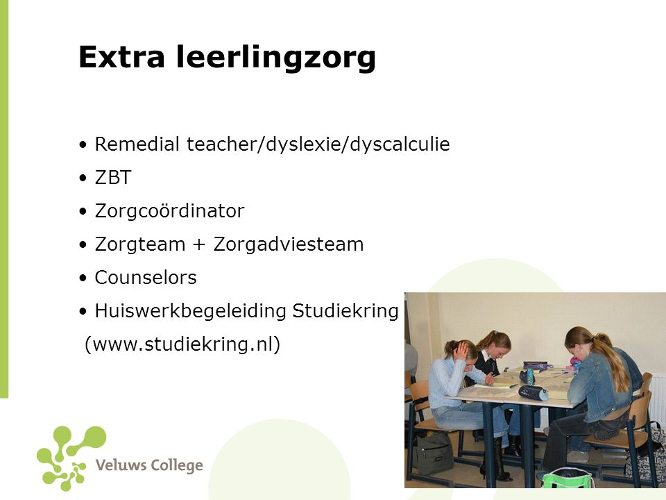Extra leerlingzorg Remedial teacher/dyslexie/dyscalculie ZBT