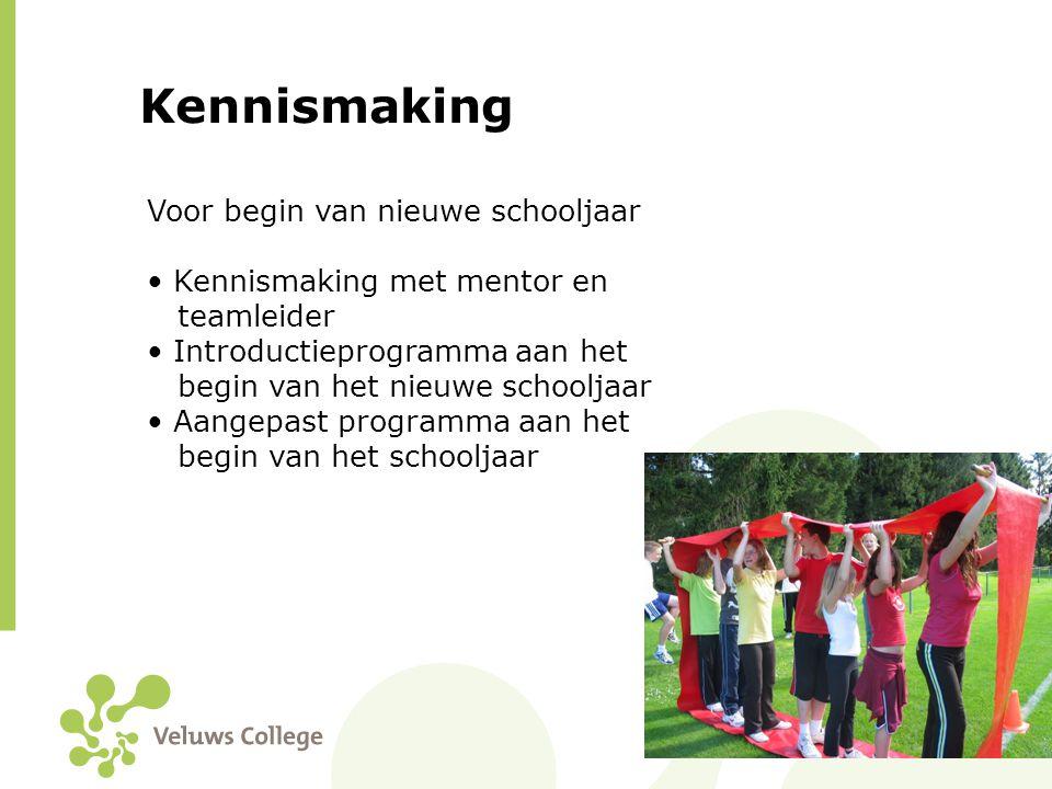 Kennismaking Voor begin van nieuwe schooljaar