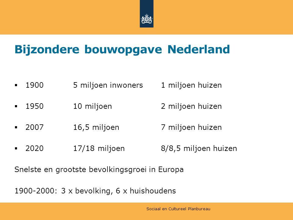 Bijzondere bouwopgave Nederland