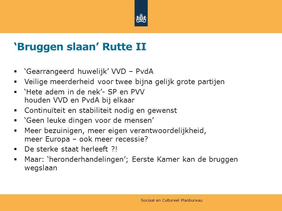'Bruggen slaan' Rutte II