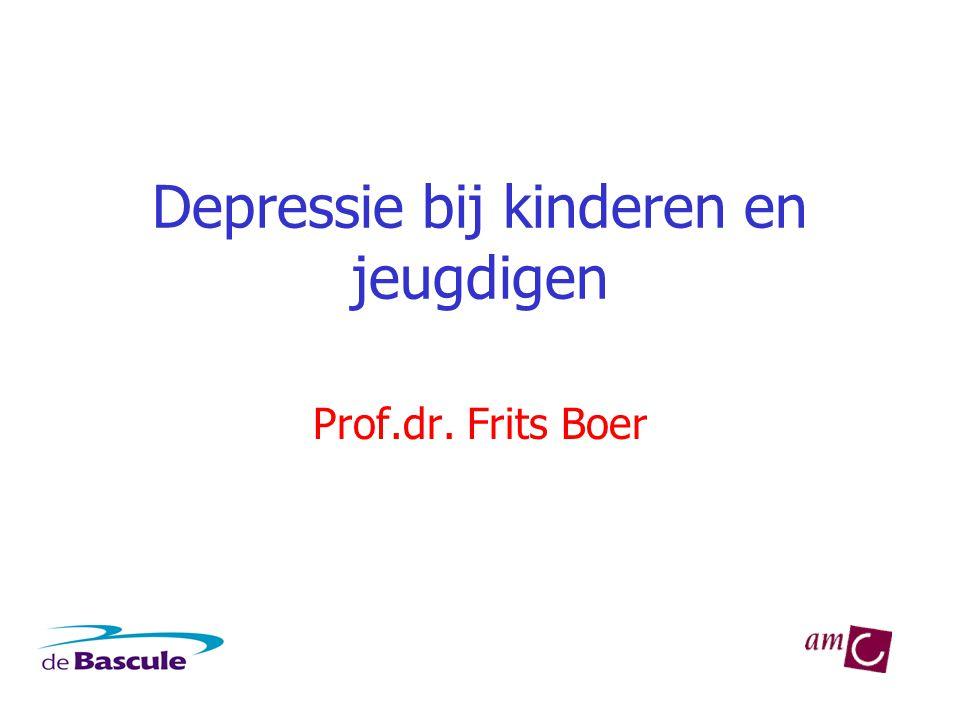 Depressie bij kinderen en jeugdigen