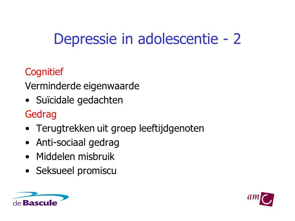 Depressie in adolescentie - 2