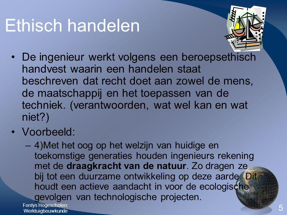 Fontys Hogescholen: Werktuigbouwkunde