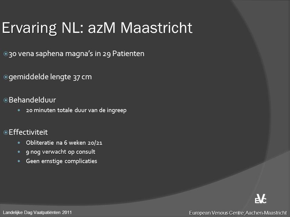 Ervaring NL: azM Maastricht