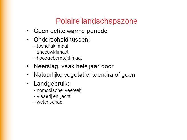 Polaire landschapszone