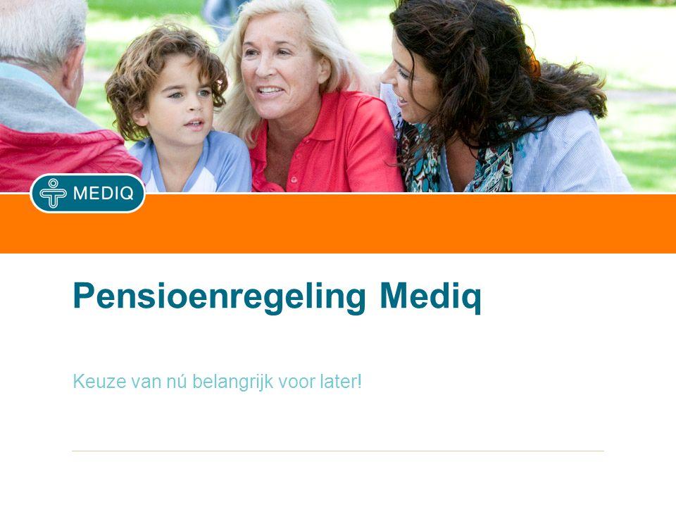 Er zijn bij Mediq drie pensioenfondsen