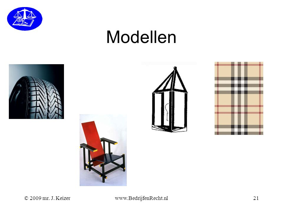 Modellen © 2009 mr. J. Keizer www.BedrijfenRecht.nl