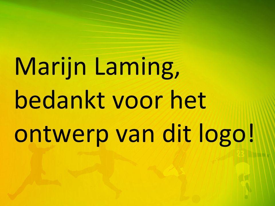 Marijn Laming, bedankt voor het ontwerp van dit logo!
