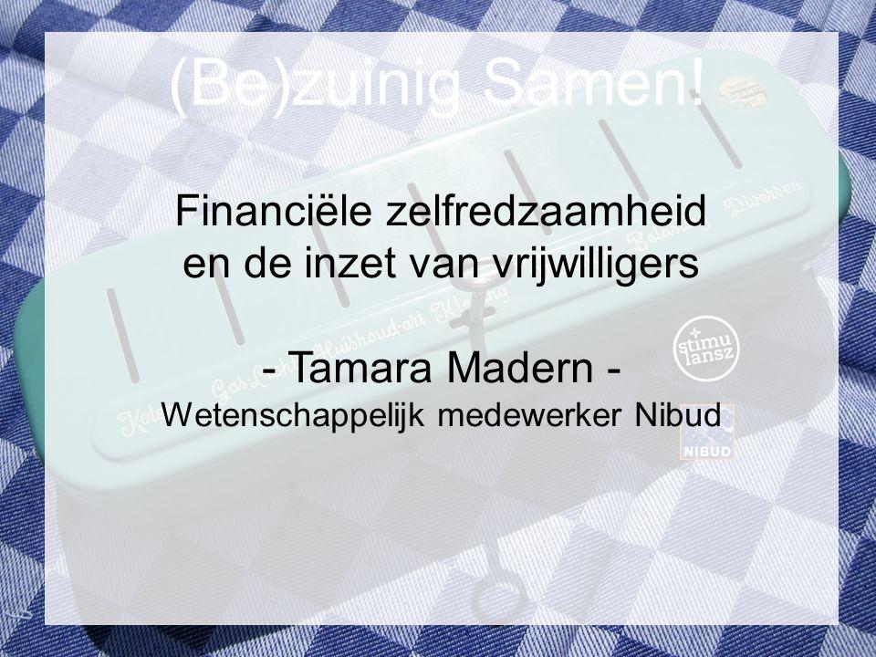 (Be)zuinig Samen! Financiële zelfredzaamheid