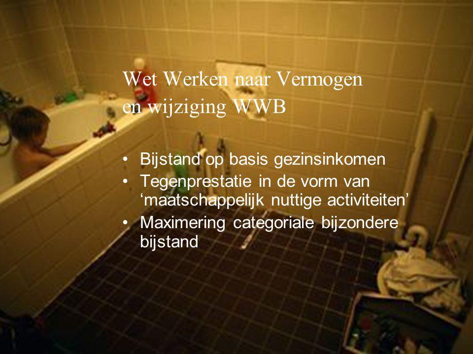Wet Werken naar Vermogen en wijziging WWB