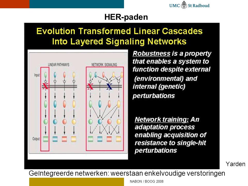 HER-paden Geïntegreerde netwerken: weerstaan enkelvoudige verstoringen