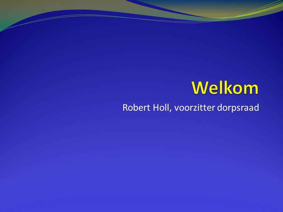 Robert Holl, voorzitter dorpsraad