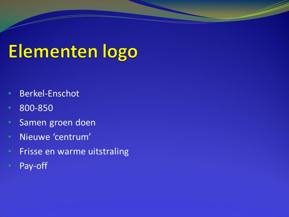 Elementen logo Berkel-Enschot 800-850 Samen groen doen