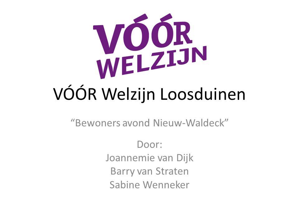 VÓÓR Welzijn Loosduinen