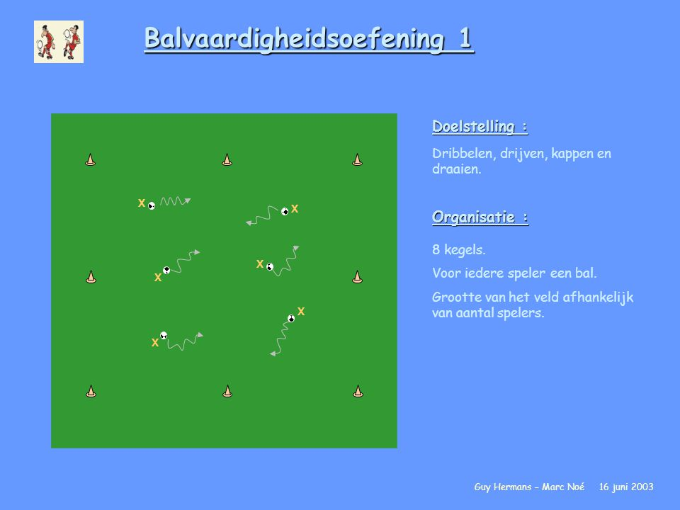 Balvaardigheidsoefening 1