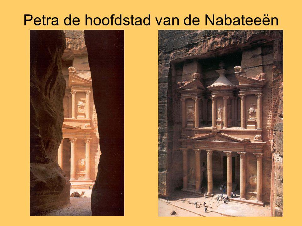 Petra de hoofdstad van de Nabateeën