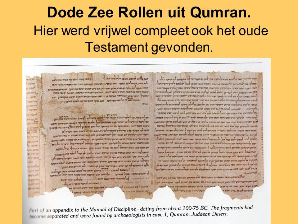 Dode Zee Rollen uit Qumran