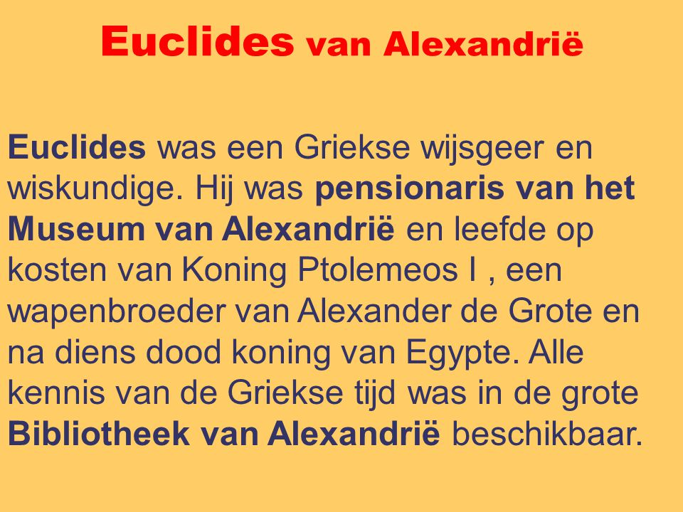 Euclides van Alexandrië
