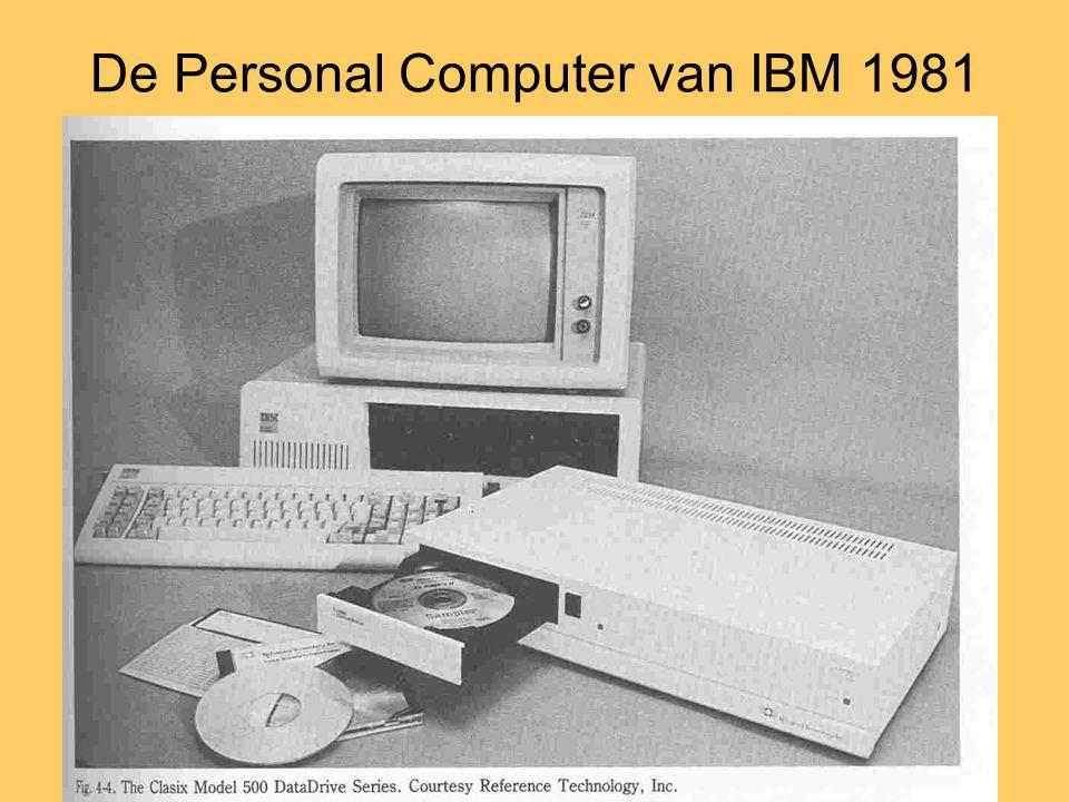 De Personal Computer van IBM 1981