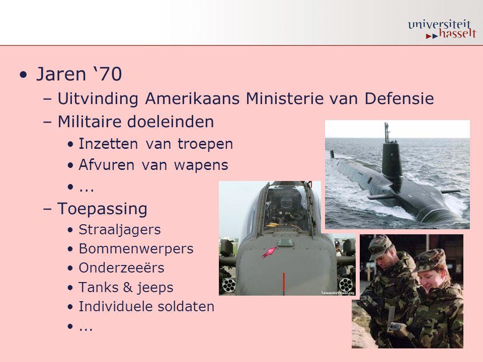 Jaren '70 Uitvinding Amerikaans Ministerie van Defensie