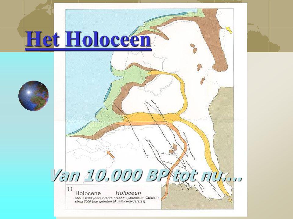Het Holoceen Van 10.000 BP tot nu….