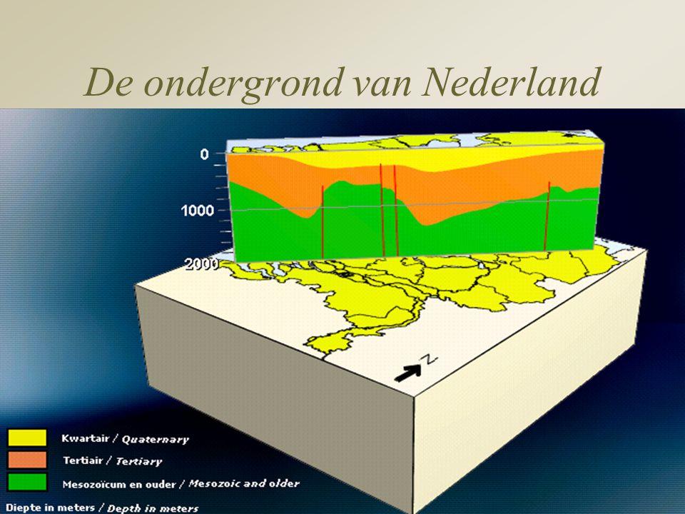 De ondergrond van Nederland