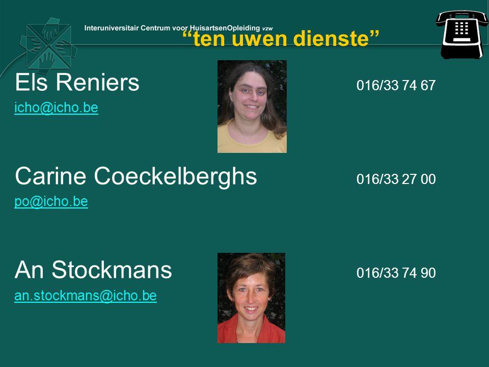 Carine Coeckelberghs 016/33 27 00