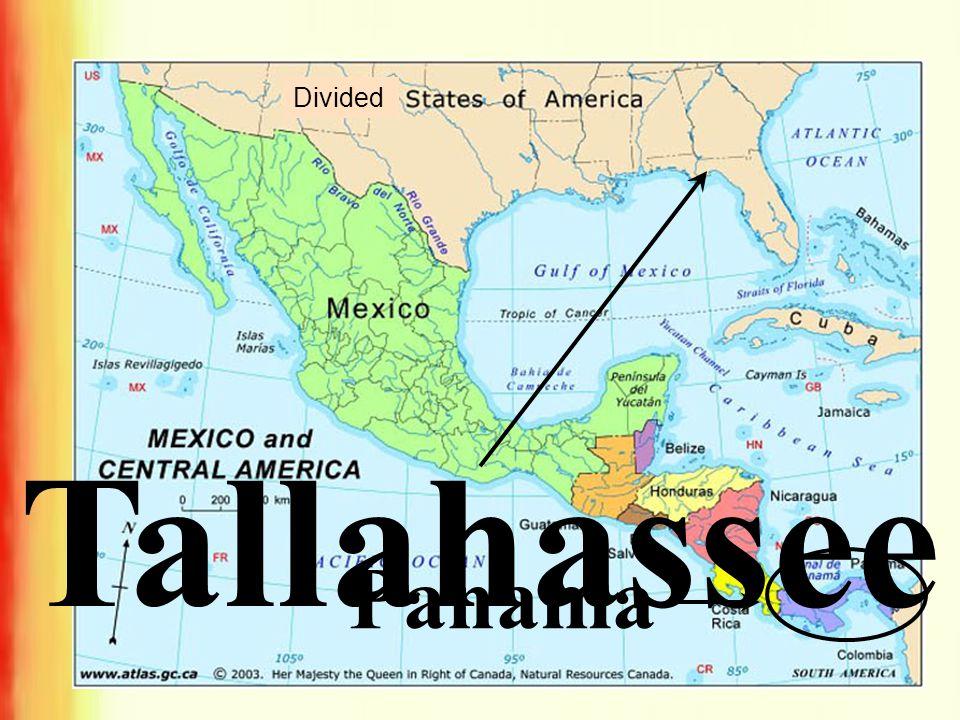 Divided Tallahassee Panama