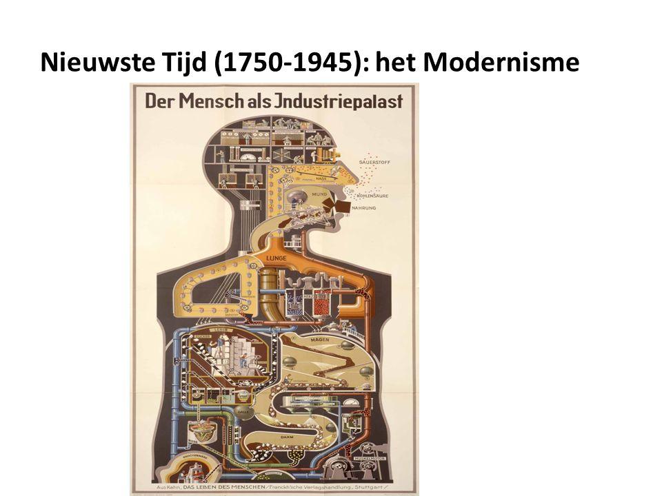 Nieuwste Tijd (1750-1945): het Modernisme