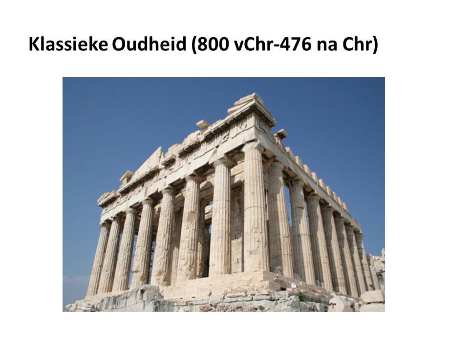 Klassieke Oudheid (800 vChr-476 na Chr)