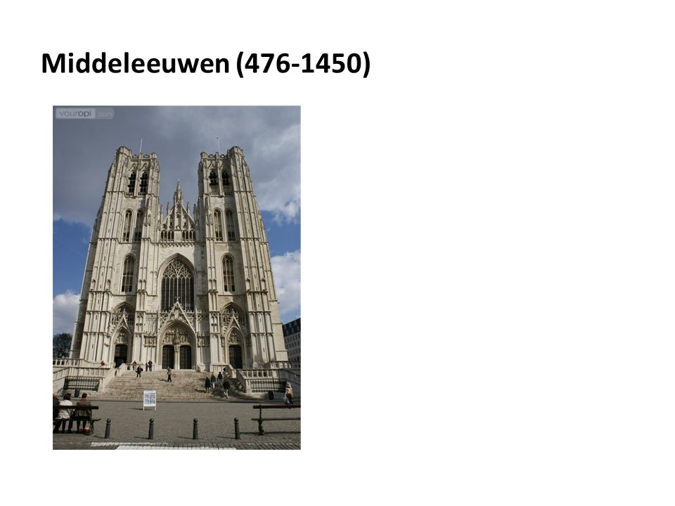 Middeleeuwen (476-1450)