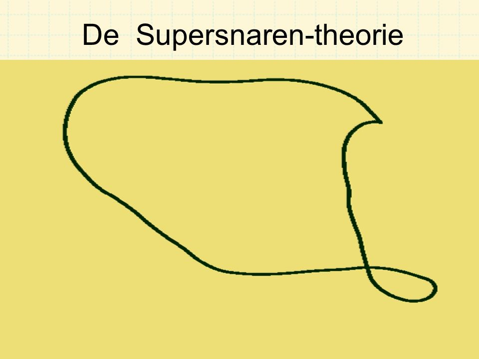 De Supersnaren-theorie