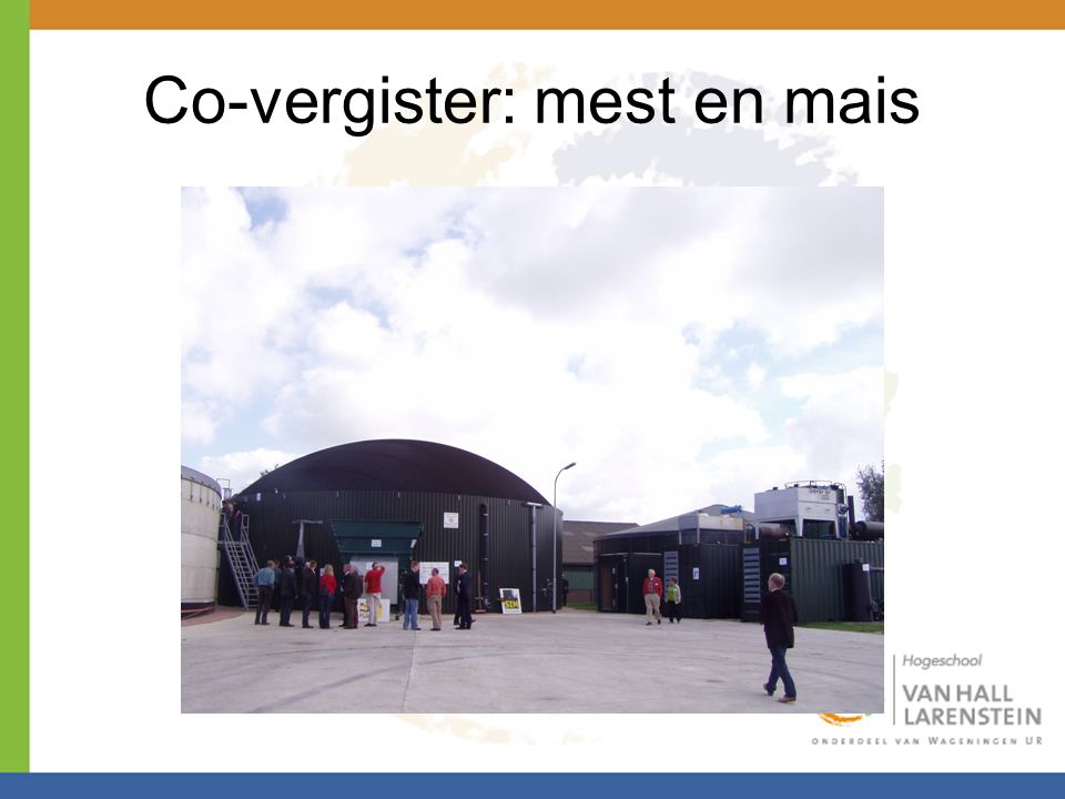 Co-vergister: mest en mais