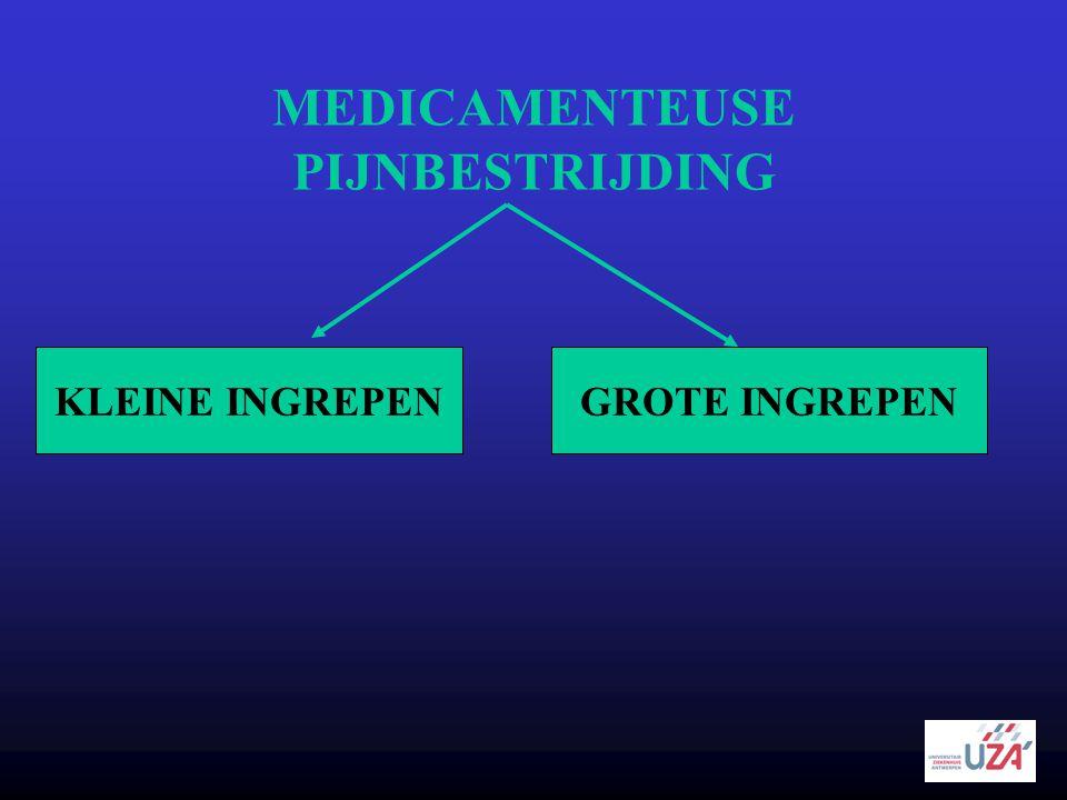 MEDICAMENTEUSE PIJNBESTRIJDING