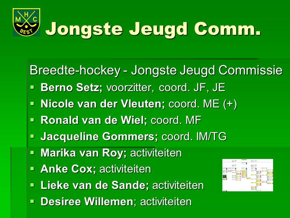 Jongste Jeugd Comm. Breedte-hockey - Jongste Jeugd Commissie