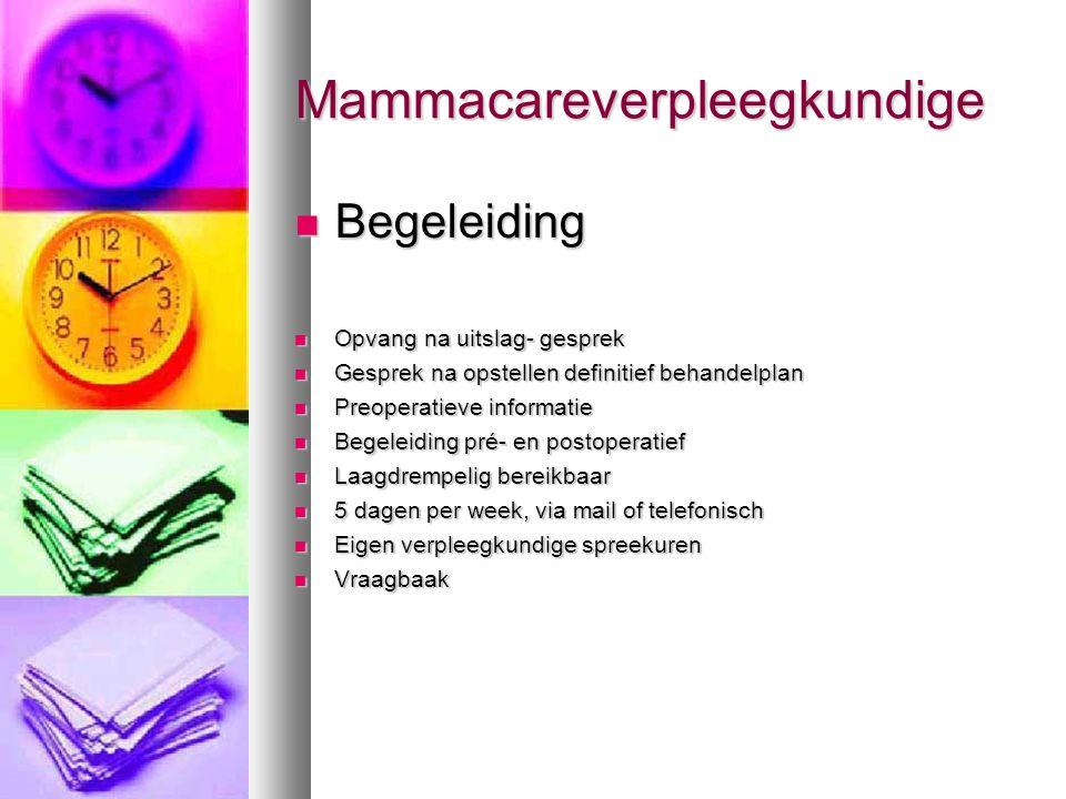 Mammacareverpleegkundige