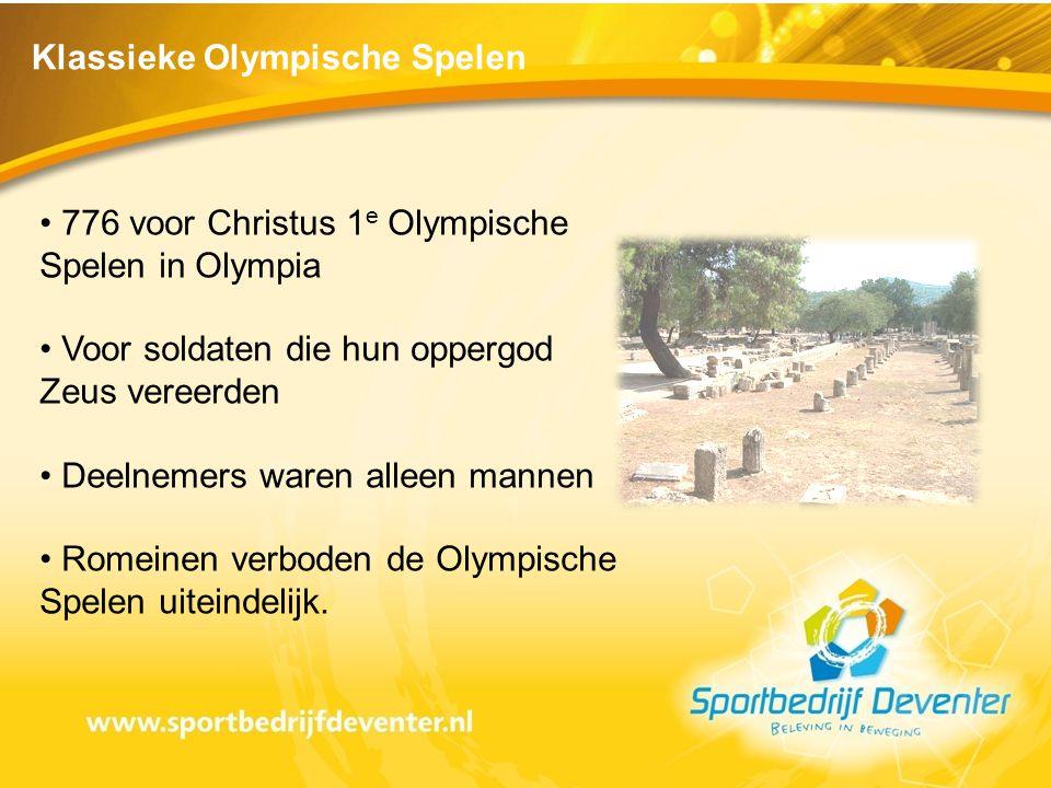 Klassieke Olympische Spelen